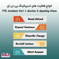 انواع فعالیت های اسپیکینگ PTE