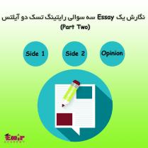 قسمت دوم مقالات سه سوالی Side 1 + Side 2 + Opinion آیلتس