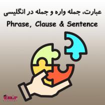 عبارت، جمله واره و جمله در انگلیسی