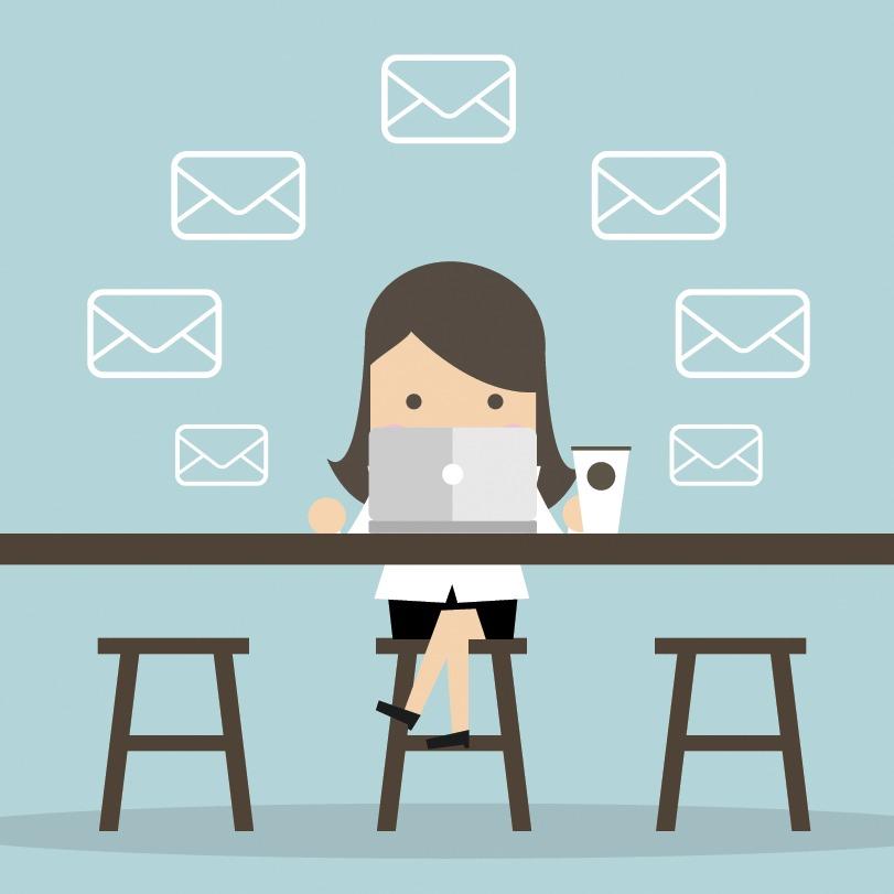 اتمام ایمیل تجاری